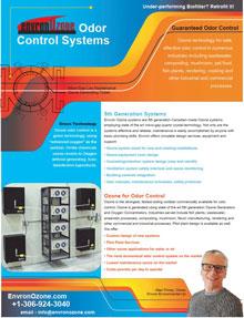 Envron Odor Control Brochure